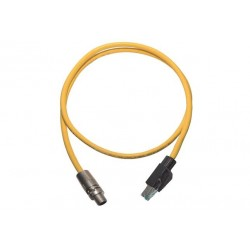 09478411002 M12 X-coded Cable Assembly-2m