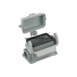 19300241296 Han B Base SM LC plastic cover 2 x M25