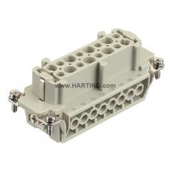 09330162711 Han 16E F insert screw (17-32)