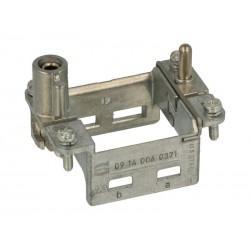 09140060371 Han hinged frame plus, for 2 modules a-b