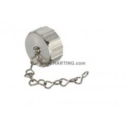 09151009102 Han M23 Metal Screw Cover – Chain 70mm