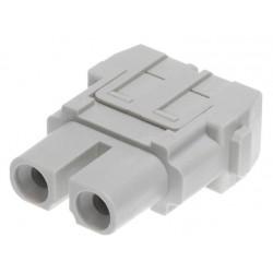 09140022701 Han 40A axial module, female 2,5-8 mm