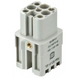 09360082732 Han 8D-F Quick Lock 22 - 16 AWG
