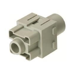 09140012762 Han 200A axial module, female 40-70 mm