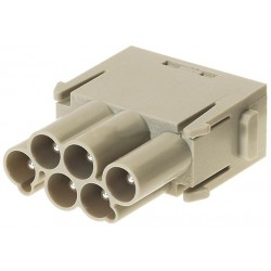 09140063041 Han E Protected module, crimp male