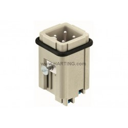 09200032634 Han 3A male insert with Quick-Lock 1,5mm