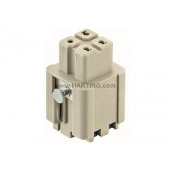 09200032734 Han 3A female insert Quick-Lock 1,5mm²